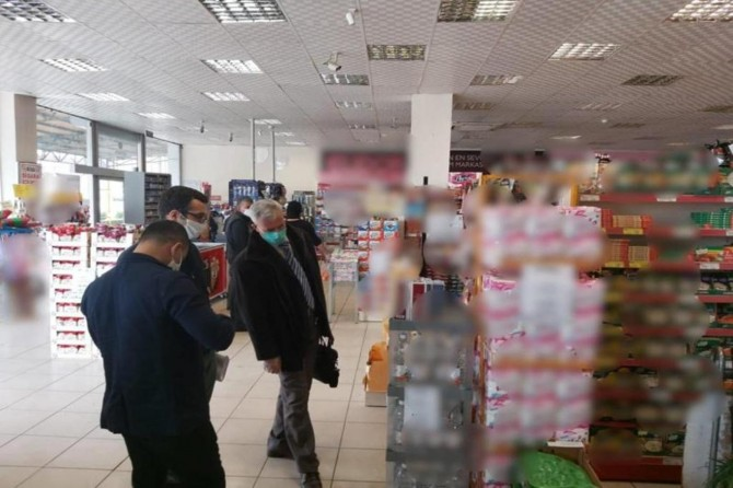 Gaziantep'te Covid-19 tedbirlerine uymayan işletmelere para cezası verildi