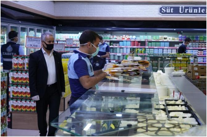 Diyarbakır Büyükşehir Belediyesi bayram öncesi gıda denetimlerine başladı