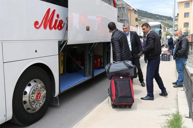 Amasya'da karantina süreleri dolan 155 kişi evlerine gönderildi