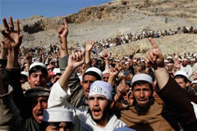 Afganistan'daki protestolarda 7 kişi hayatını kaybetti