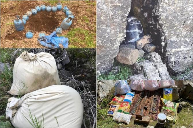 Bingöl'de PKK operasyonunda 8 katlı sığınak tespit edildi