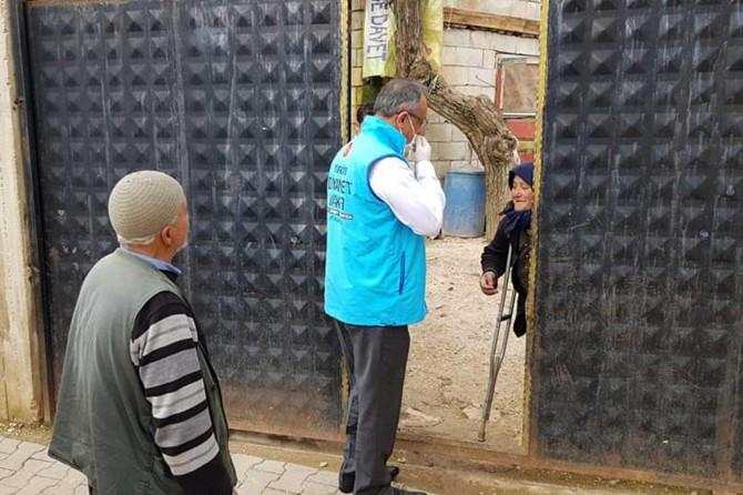 Din görevlileri Vefa Destek Gruplarında gönüllü olarak görev alıyor