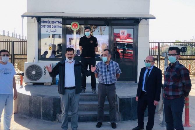 Karkamış'ta gümrük muhafaza memurlarının darp edilmesine tepki