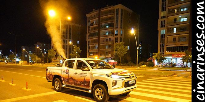 Diyarbakır Büyükşehir Belediyesi ilaçlama çalışmalarına hız verdi