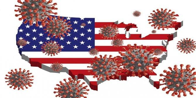 ABD'de son 24 saatte 854 kişi daha Coronavirus nedeni ile hayatını kaybetti