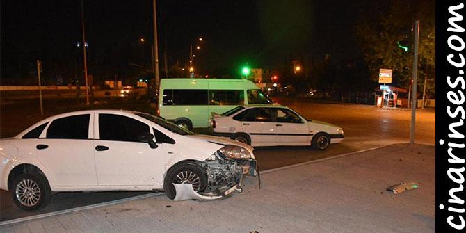 Adana'da polisten kaçan uyuşturucu satıcısı kaza yapınca yakalandı