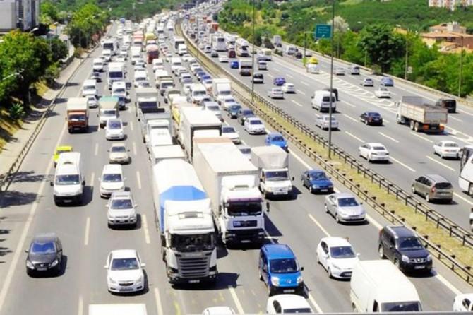 Toplam taşıt-kilometre 306 milyar 926 milyon olarak hesaplandı