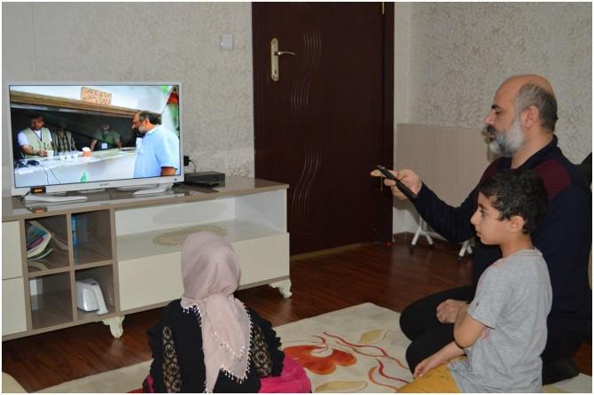 """Mavi Marmara şehidinin ailesi evlerinde """"Kudüs Günü"""" etkinliği düzenledi"""