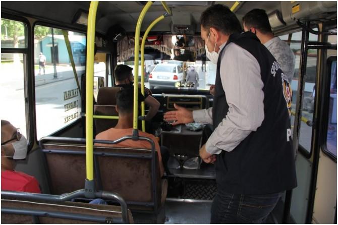 Malatya'da 494 araca 192 bin TL cezai işlem uygulandı