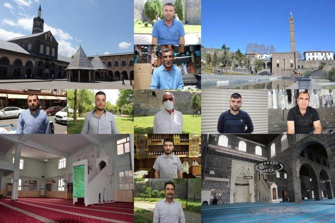 Diyarbakırlılar camilerdeki merkezi sistemden vazgeçilmesini istiyorlar