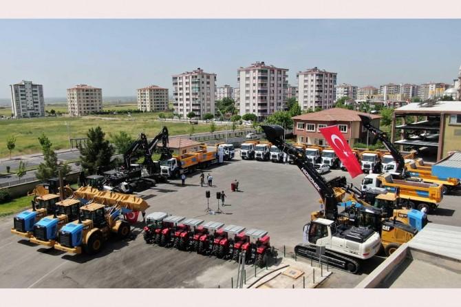 Diyarbakır Büyükşehir Belediyesi araç filosunu yeniliyor