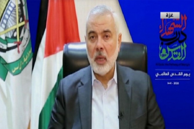 Haneyya calls for joint strategy to face growing zionist threat