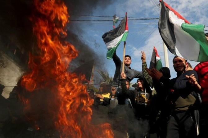 Hamas: Siyonist işgalcilerin ilhak planı bir intifadaya neden olacak