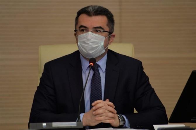 """Vali Okay Memiş: """"Erzurum'da maskesiz sokağa çıkmak yasak"""""""