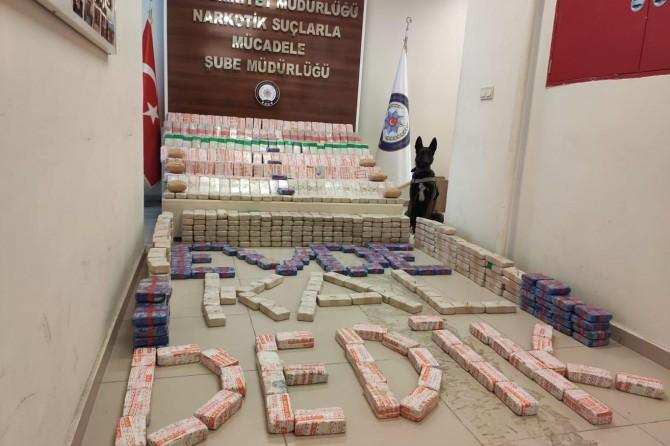 Van Tuşba'da et entegre tesisinde 355 kilogram eroin ele geçirildi