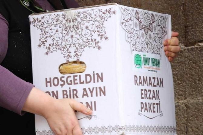 Gaziantep Umut Kervanı, Ramazan ayında ihtiyaç sahiplerinin yüzünü güldürdü
