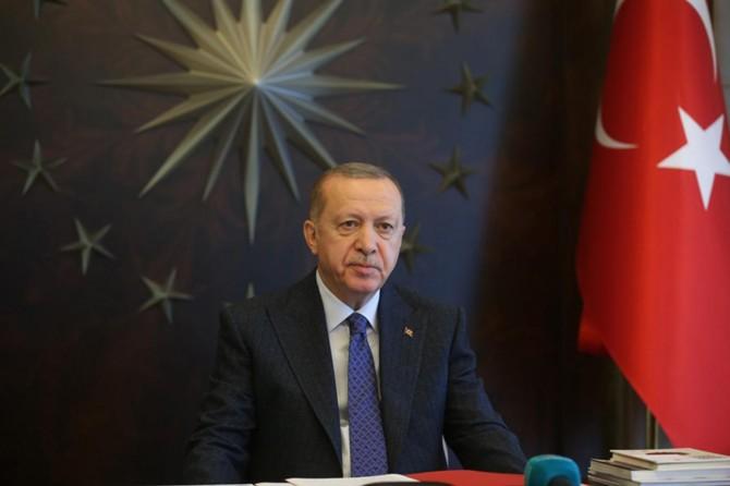 Erdoğan issues a message on Eid al-Fitr