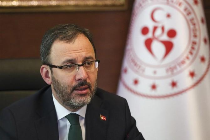 """Gençlik ve Spor Bakanı Kasapoğlu: """"Yurtlarda karantinada kimse kalmadı"""""""