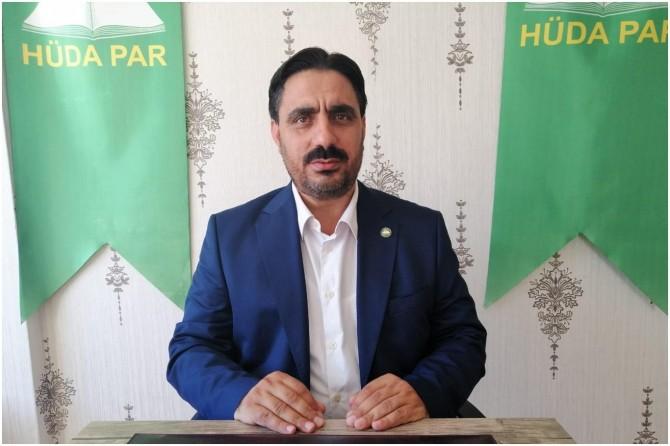 HÜDA PAR Eskişehir İl Başkanı Dikgöz'den Ramazan Bayramı mesajı