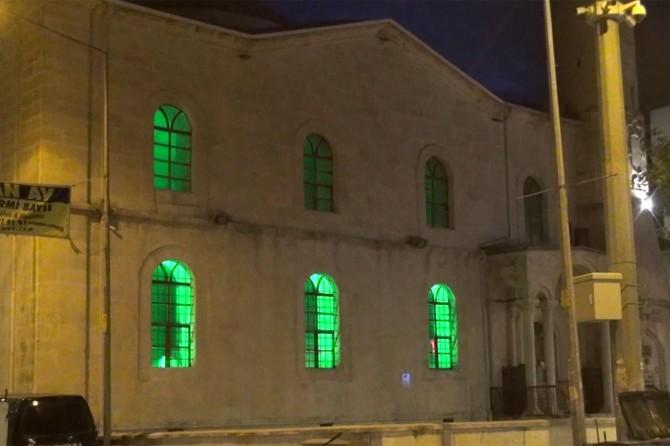 Adıyaman'da bayram namazında boş kalan camilerden teşrik tekbirleri yükseldi