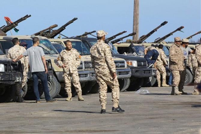 Libya'da Rus paralı askerler cephe hattından ayrıldı