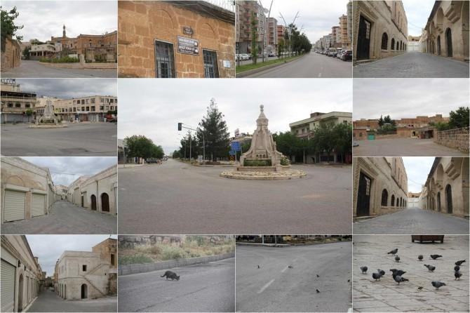 Midyat'ta tarihi çarşı ve sokaklar tarihi sessizliğini yaşıyor