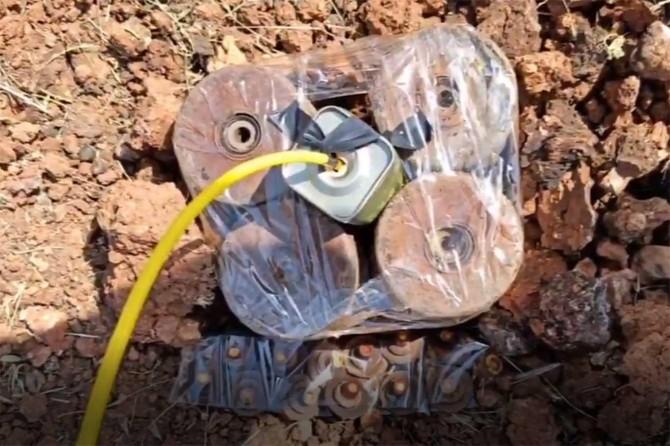 MSB Şırnak'ta tespit edilen antitank mayınının imha edildiğini açıkladı