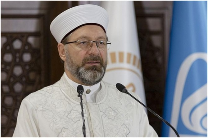 """Diyanet İşleri Başkanı Erbaş: """"Camiler, minareler bizim en önemli değerimiz"""""""