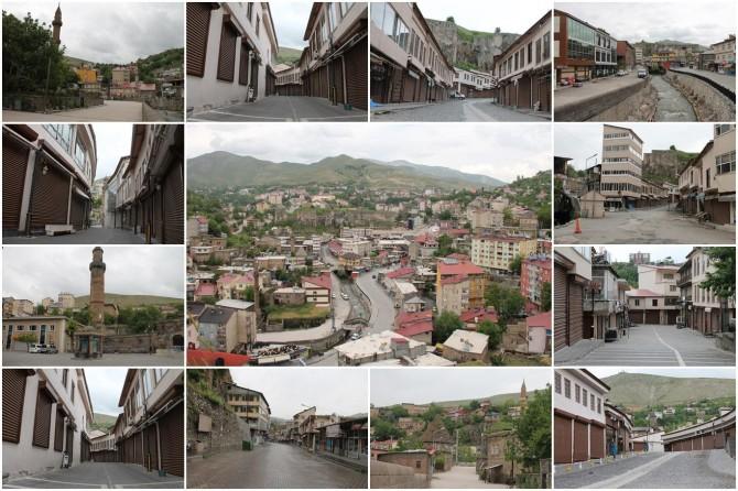 7 bin yıllık vadideki kadim şehir Bitlis tarihin en sessiz günlerinden birini yaşıyor