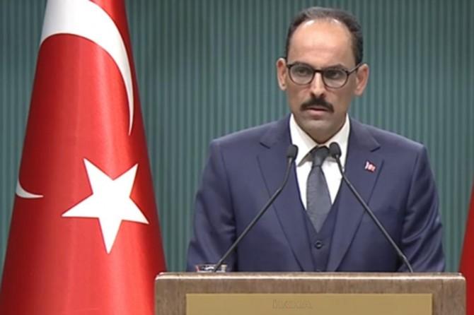 """Cumhurbaşkanlığı Sözcüsü Kalın: """"Tüm Libya için geçerli olacak siyasi çözüm olmalı"""""""