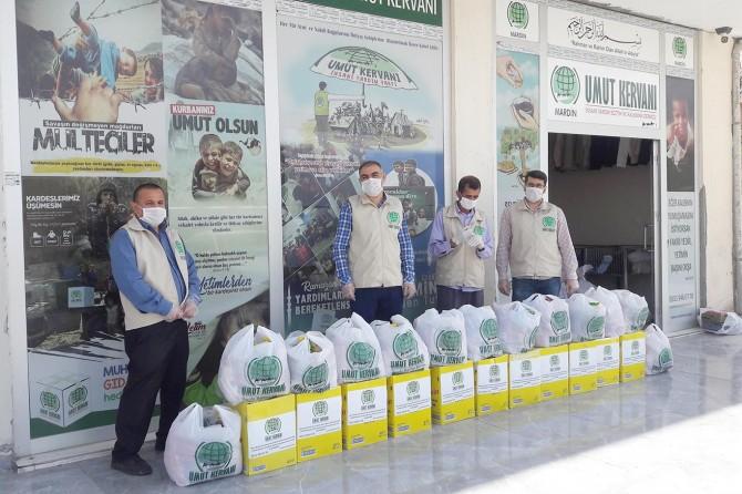 Mardin Umut Kervanından 578 aileye insani yardım