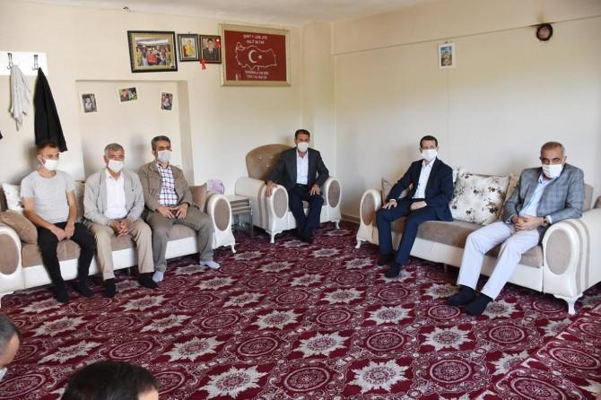 Hilvan Belediye Başkanı Bayık'tan Ramazan Bayramı ziyaretleri