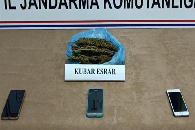 Kurtalan'da uyuşturucu ticareti yapan 9 şüpheliye 28 bin 350 TL ceza verildi