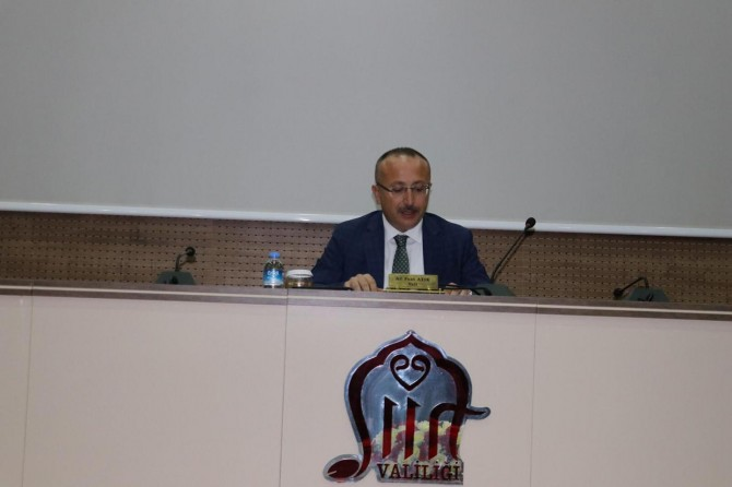 Siirt'te Pandemi Kurulu toplantısı yapıldı