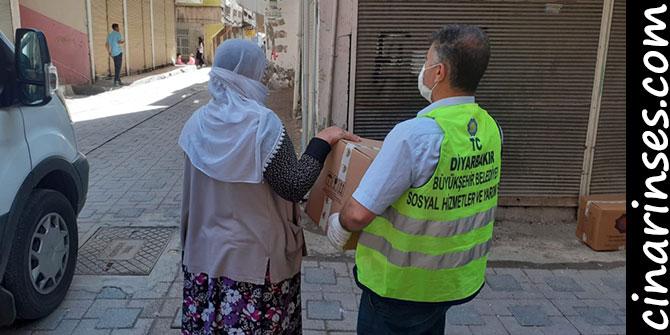 Diyarbakır Büyükşehir Belediyesinden 10 bin Aileye Gıda Yardımı