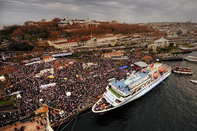 "Mavi Marmara gazisi Çoban: ""Mavi Marmara bir iyilik ve vahdet hareketiydi"""