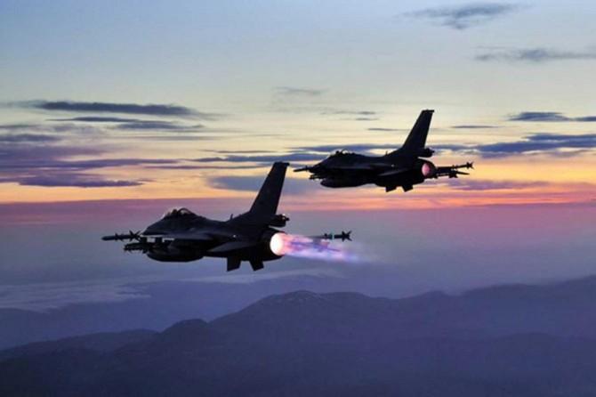 Zap ve Haftanin bölgelerinde yapılan hava operasyonunda 3 PKK'li öldürüldü