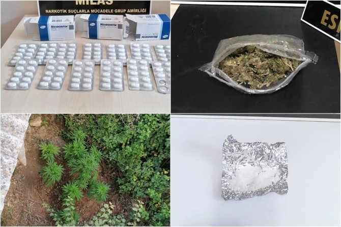 Muğla'da uyuşturucu operasyonu