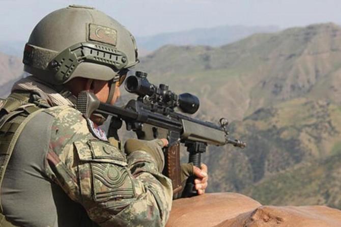 Gri listede yer alan PKK'li öldürüldü