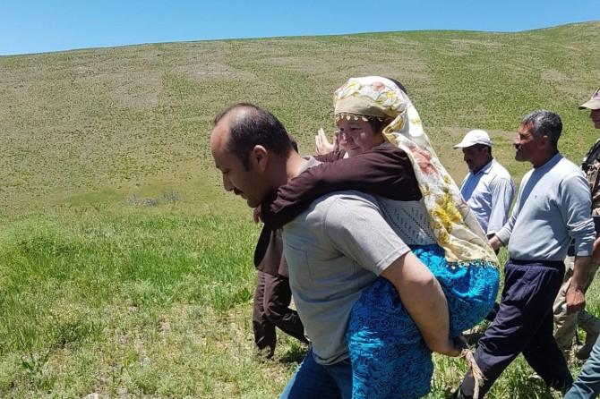 Ağrı'da kaybolan zihinsel engelli kadın bulundu