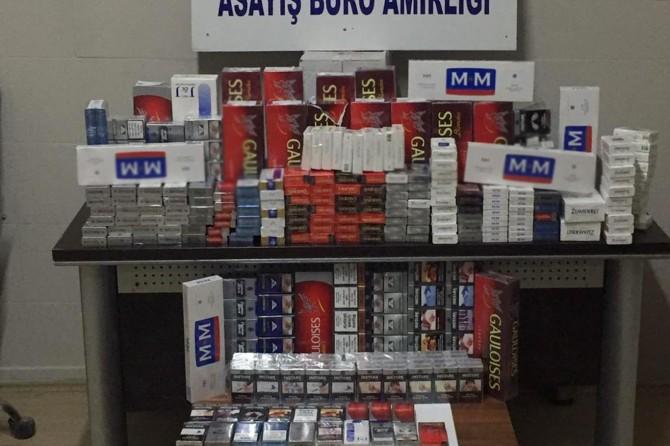 Şanlıurfa'da 662 paket kaçak sigara ele geçirildi