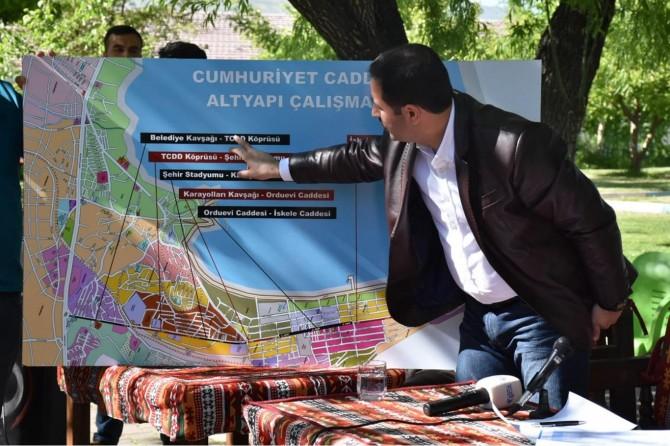 Tatvan Belediyesinden 180 milyonluk alt ve üstyapı projesi