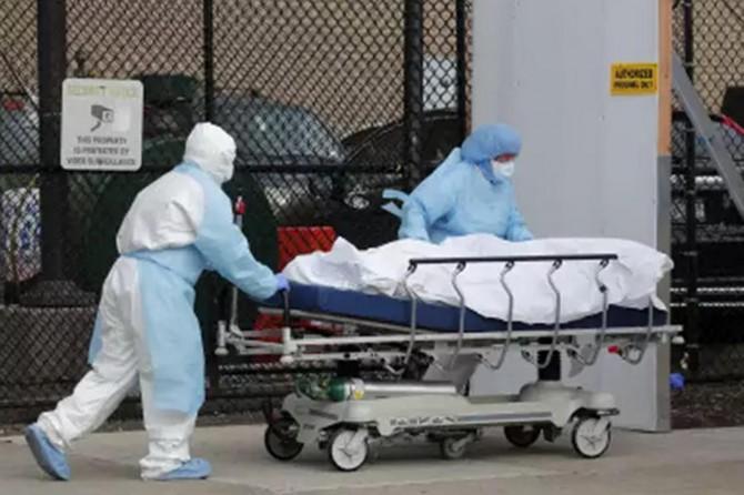 ABD'de Coronavirus'ten son 24 saatte 1029 kişi öldü