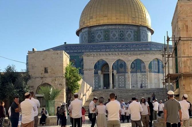 Ürdün Parlamentosu: Mescidi Aksa baskını Müslümanların duygularına açık bir saldırıdır