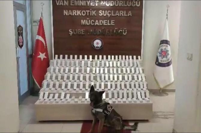 Van'da 66 kilogram eroin ele geçirildi, bir kişi tutuklandı