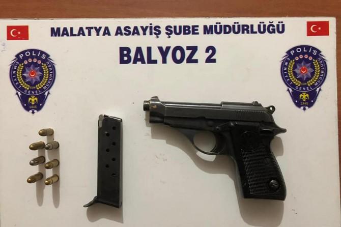 Malatya'da aranan 3 kişi yakalandı