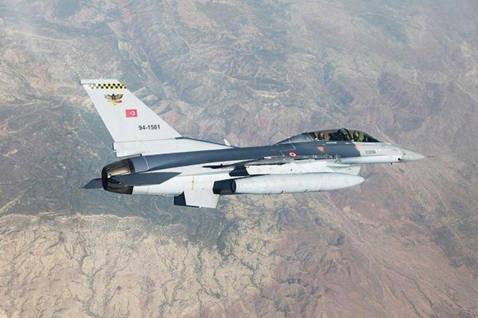 Tunceli'deki hava operasyonunda 3 PKK'li öldürüldü