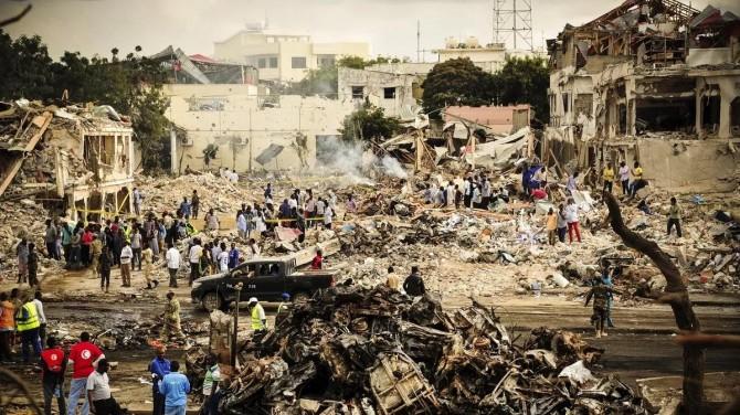 Di êrîşa ku li Somalîyê hat lidarxistin de 10 kes canê xwe ji dest dan