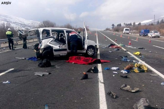 174,896 traffic accidents involving death or injury occurred in Turkey during 2019
