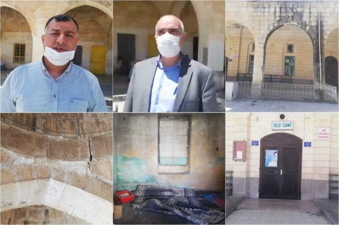 Şanlıurfa Suruç'taki STK temsilcileri Ulu Camii'nin onarılmasını istiyor